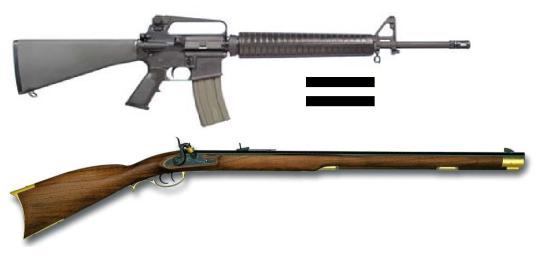 Mil guns.