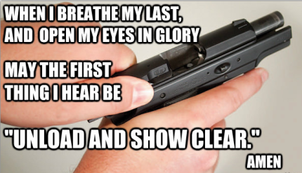 Shooters Prayer