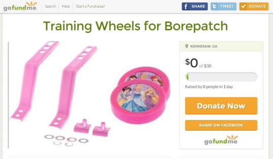 Training Wheels for Borepatch