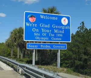 GA Welcome Sign